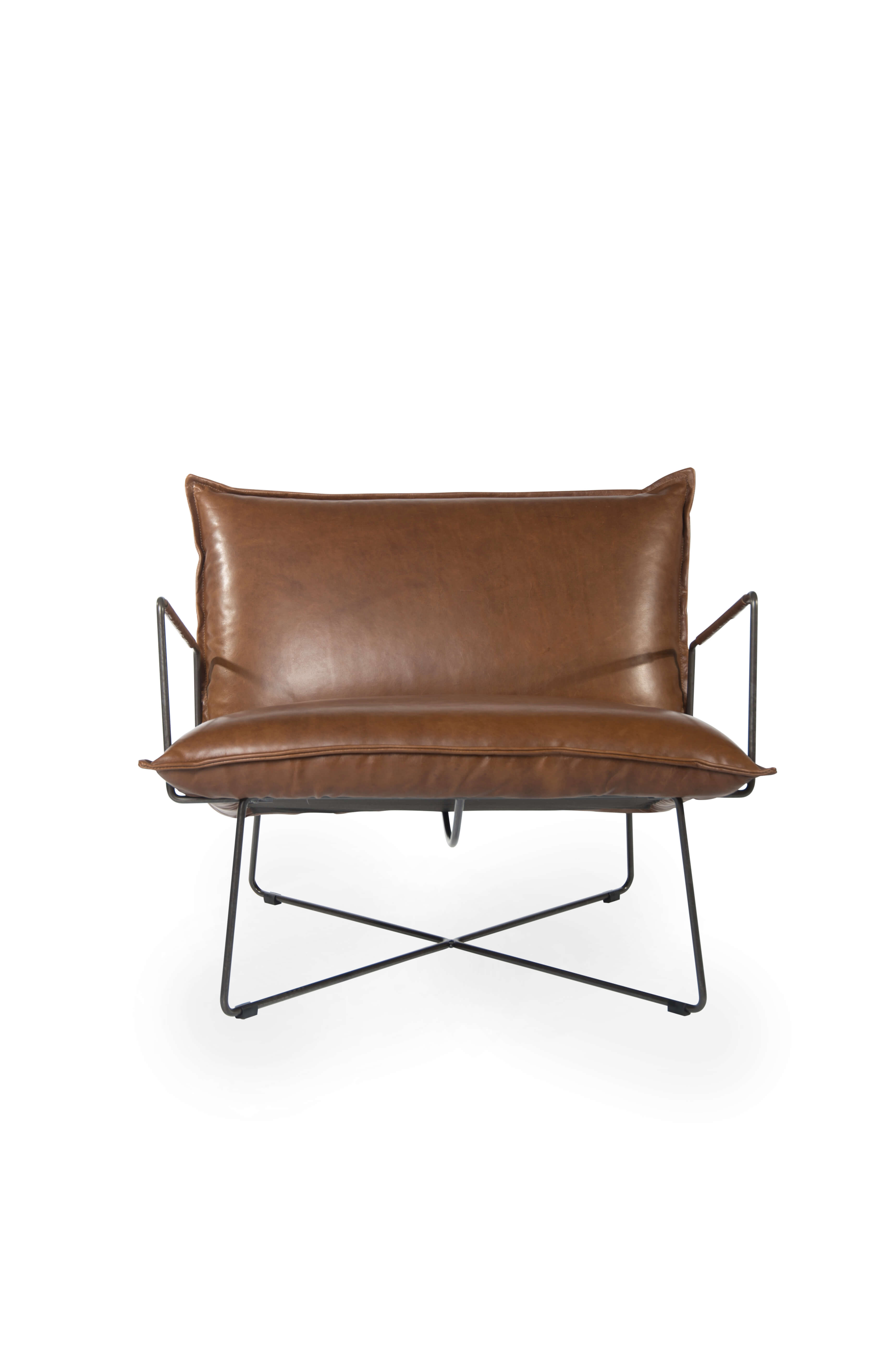 Earl Armchair With Arm Luxor Fango Front