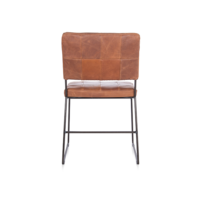 Mila Diningchair Without Arm Bonanza Tan Back