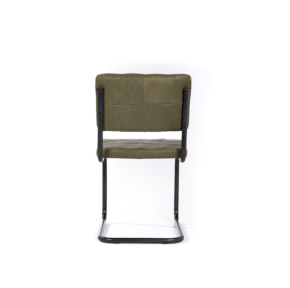 Nelson Diningchair Without Arm Royal Olive Back