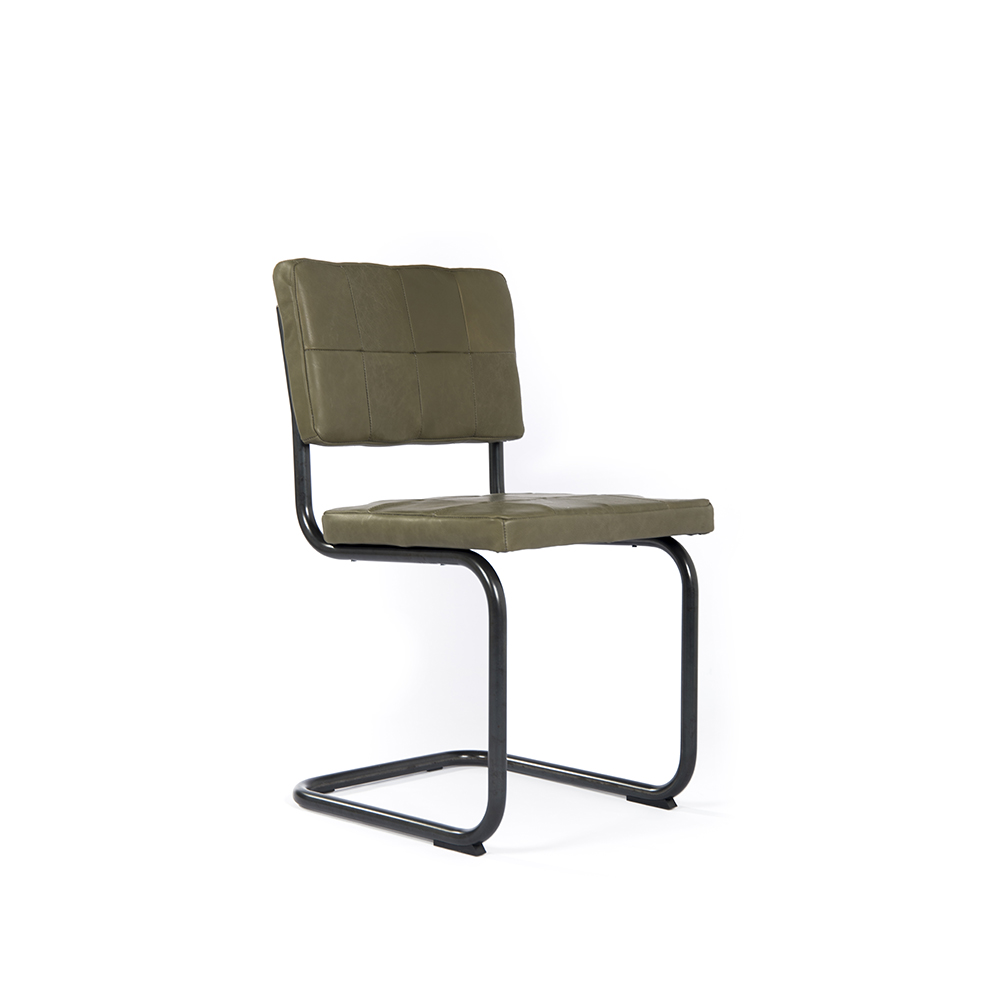 Nelson Diningchair Without Arm Royal Olive Oblique
